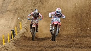 RedBud 450 Moto 2: Ken Roczen vs. Trey Canard