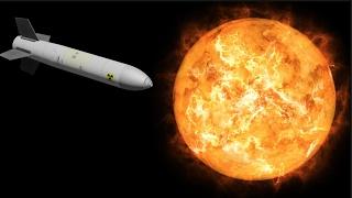 ¿Qué pasaría si lanzamos misiles nucleares al Sol?