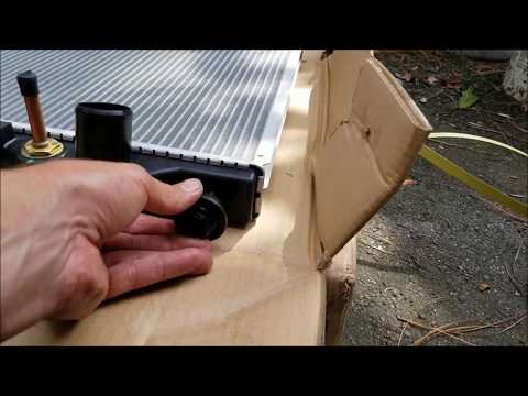 Radiator Replacement – 2001 Isuzu Rodeo – Part 2