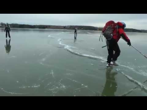 Lake Champlain Skating