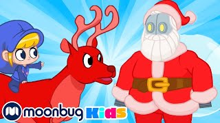 Robot Santa - My Magic Pet Morphle | Holiday Special | Kids Cartoons | Moonbug Kids After School