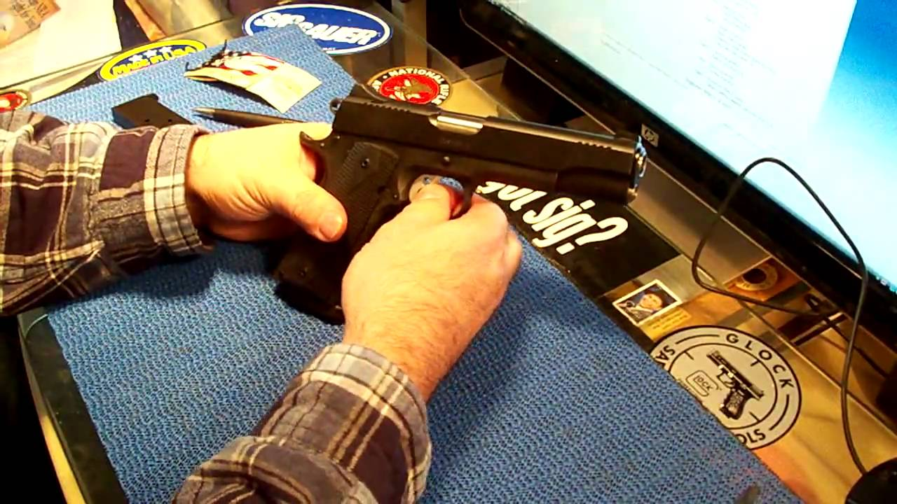 KIMBER 1911 TAKEDOWN by theARMORYchannel