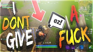 kCin | I dont give a f*ck | Fortnite Battle Royale Highlights #06