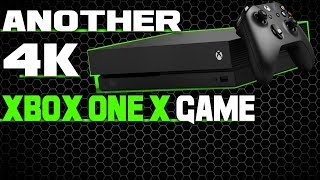 Xbox One X Confirmed For Yet Another Giant Native 4K Game! This Game Looks Stunning!