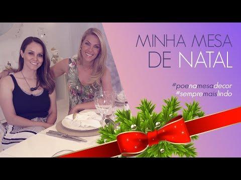 MINHA MESA DE NATAL  ANA HICKMANN