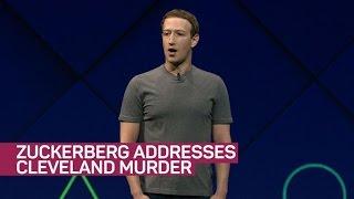 Zuckerberg addresses Cleveland murder (CNET News)