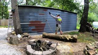 Painting A Metal Building