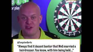 Darts Players Read Mean Tweets
