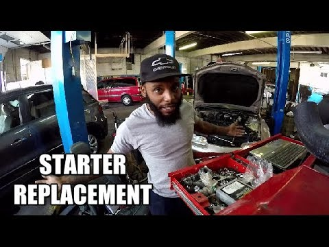 Starter Replacement 2011-2017 Dodge Charger 36 - YouTube