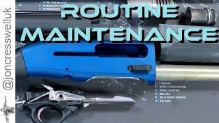 Beretta 1301 User Guide: Routine Maintenance - Strip, Clean, Assemble screenshot 5