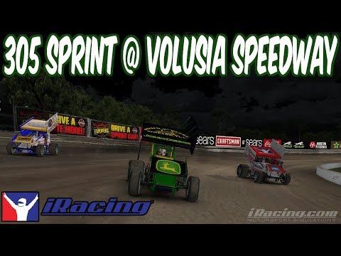 iRacing 305 Sprint @ Volusia Speedway Park