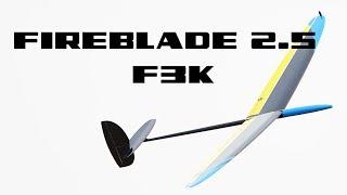 GCM Fireblade 2.5 F3K