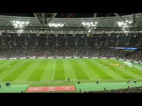 Mohammed Salah 1st goal vs West ham United