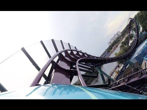 Mako POV SeaWorld Orlando New for 2016 Roller Coaster