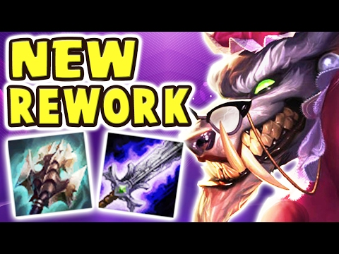 WHY DOES THIS KEEP HAPPENING TO ME?! RUINED A RELATIONSHIP | NEW WARWICK REWORK JUNGLE Nightblue3