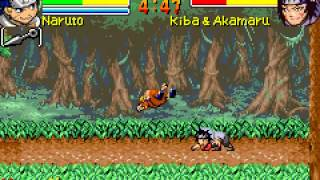 Game Boy Advance Longplay [074] Naruto Ninja Council