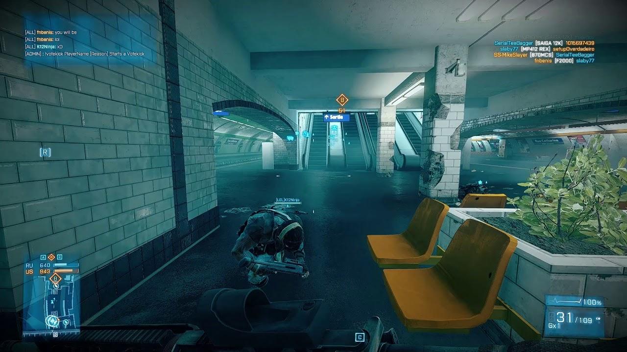 Highlights Battlefield 3 Xtremenoobs 24 7 Metro Youtube