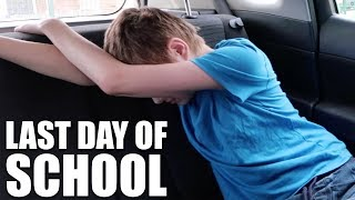 LAST DAY OF SCHOOL | AUTISM FAMILY VLOG