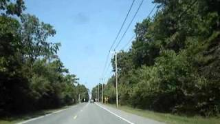 Scenic drive: CR 686, Aloe Street in Galloway Township, NJ