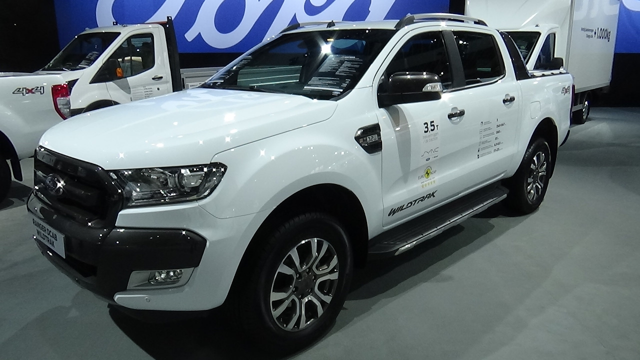 Ford Ranger Wildtrak White 2017 >> 2017 Ford Ranger Wildtrak DCab - Exterior and Interior - Auto Show Brussels 2017 - YouTube