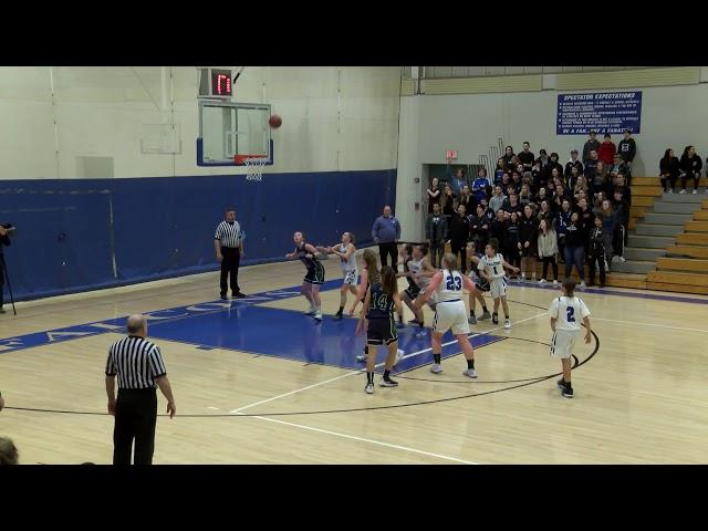 Mashpee Girls Varsity v Sturgis East Basketball Playoff Game  2-26-19