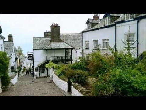 Clovelly: Charles Kingsleys Cottage & Fishermans Cottage, North Devon, UK (Part 4)
