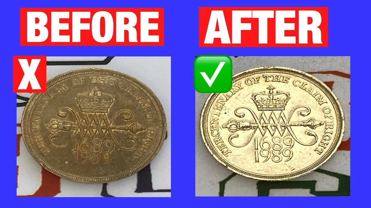 How to Clean Coins | Step by Step Guide | Coin Cleaning