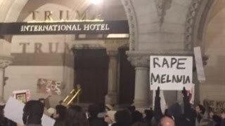 "Who Would Make A ""Rape Melania"" Sign??"