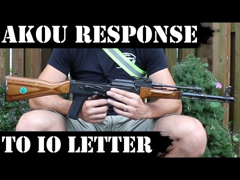 "AKOU Response To IO Letter About ""unfair"" 5k Rds Test..."