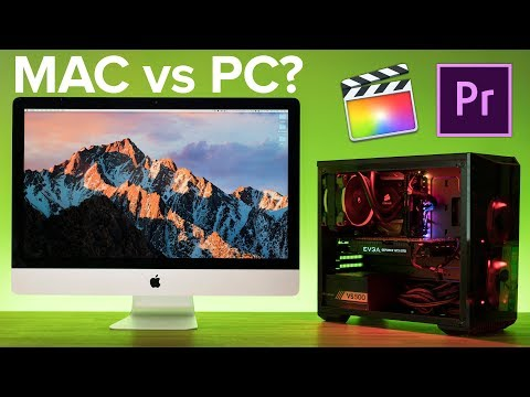 iMac VS PC for Video Editing! Final Cut X vs Premiere Pro