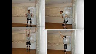 Волейбол.Обучающие видео.Техника блокирования.Часть 1.