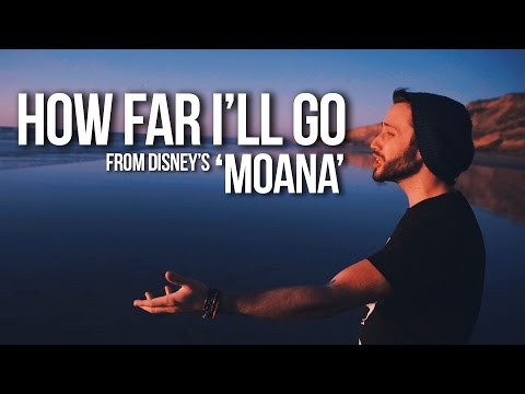 MOANA - How Far I'll Go (Jonathan Young Disney Cover)