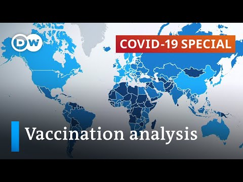 Mapping coronavirus vaccination progress and vaccine distribution