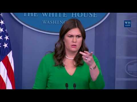 Download Youtube: Sarah 'Huckabee' Sanders Press Briefing on Trump's Taxes & the Tax Bill Passing