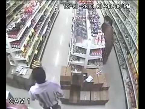 CCTV recorded video in retail