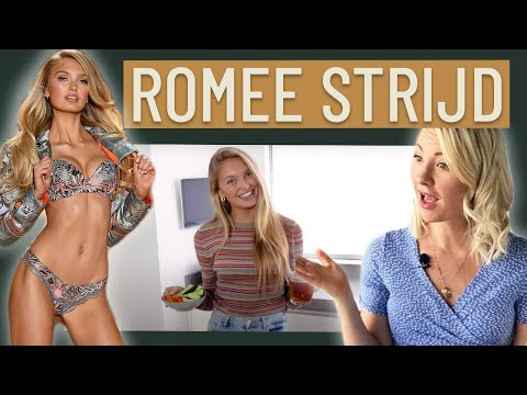 Dietitian Reviews Victoria's Secret Model ROMEE STRIJD What I Eat In A Day