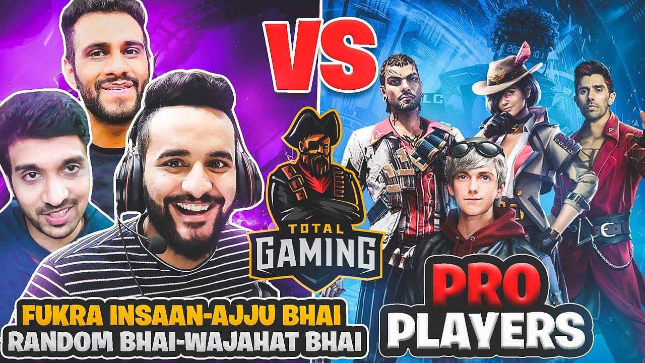 AJJU BHAI @Total Gaming and FUKRA INSAAN vs PRO PLAYER CLASH SQUAD BATTLE !! [ Ep#3 ] @Mr. Random