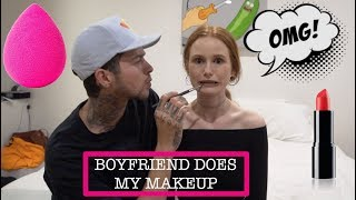 BOYFRIEND DOES MY MAKEUP | Madelaine Petsch