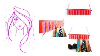 Morena Diy: How To Make Room Decor - Diy Clothes Pin Scarf Holder