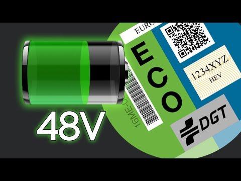 Mild Hybrid, 48 V y etiqueta ECO ¿la ESTAFA de los consumos y emisiones?