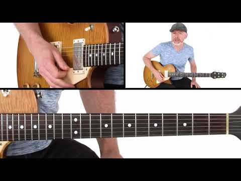 Blues Guitar Lesson  Affordable Shuffle Solo  Breakdown  Jeff McErlain