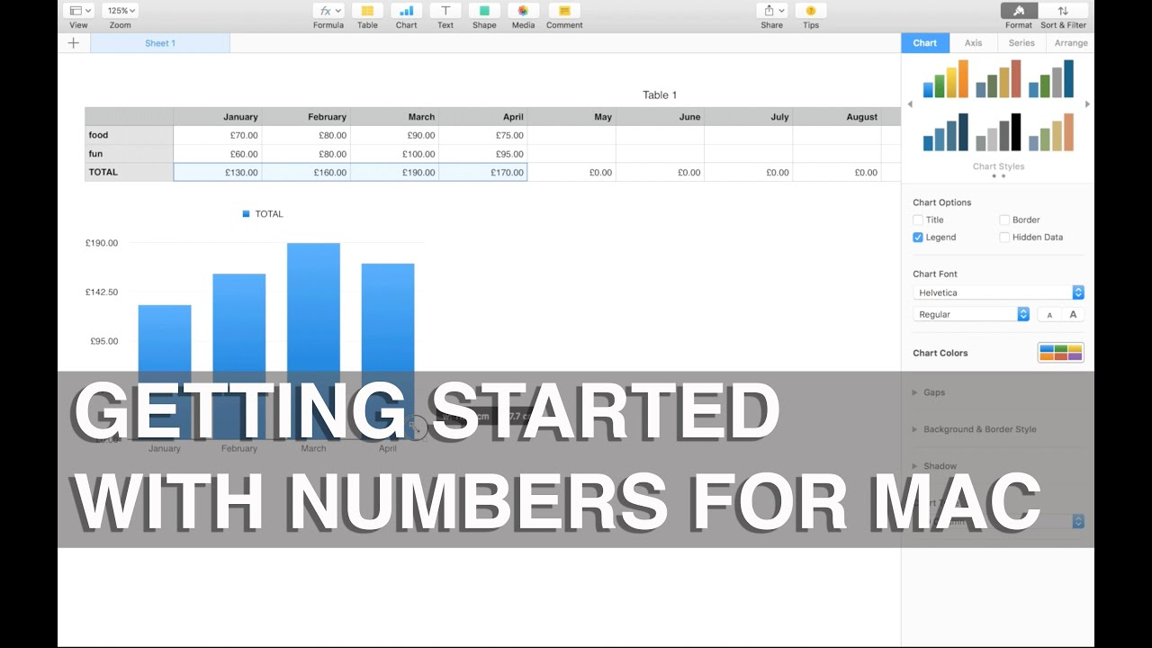 getting started with numbers for mac apple training youtube rh youtube com apple numbers user guide pdf apple numbers ios user guide