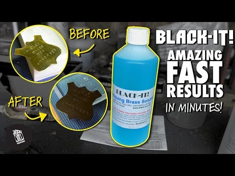 How to Age Metals in Minutes with Black-It!