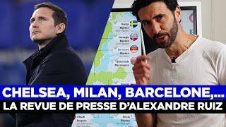 📰 La revue de presse d'Alexandre Ruiz : Lampard viré, Tuchel arrive