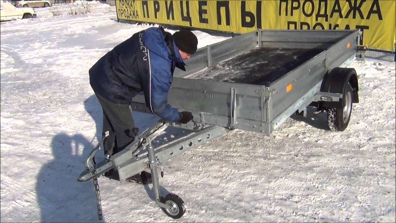 Для снегоходов. Самосвальные прицепы для снегоходов различных комплектаций с пластиковой крышкой, тент+дуги. Автоприцепы для перевозки двух/трех снегоходов. Прицепы завода мзса. Подробнее.