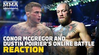 Reaction: Is Dustin Poirier Vs. Conor McGregor 3 Off UFC 264?- MMA Fighting