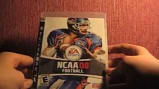 Unboxing: NCAA football 08 Playstation 3