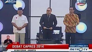 [Debat Capres 2014] Politik Internasional dan Ketahanan Nasional (1)
