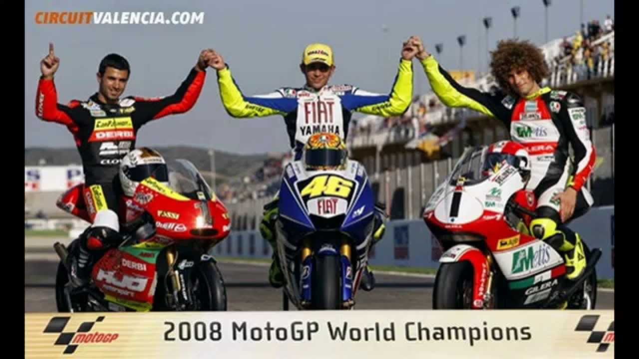 MotoGP 2002~2013 World Champion - YouTube
