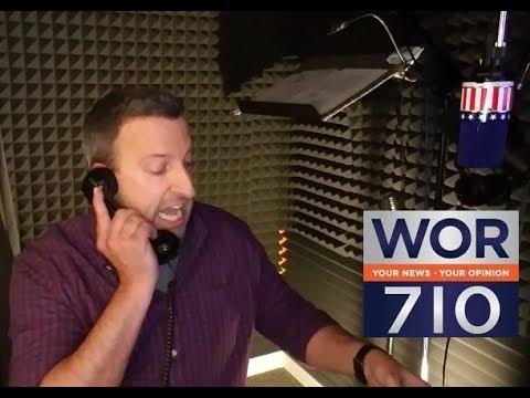 Donald Trump impressionist calls New York Radio Station
